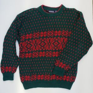 Honors Christmas Sweater ugly oversized mens MED